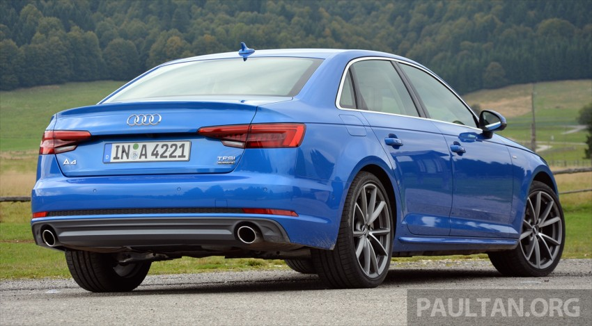DRIVEN: B9 Audi A4 – handsome suit, inner beauty Image #386373