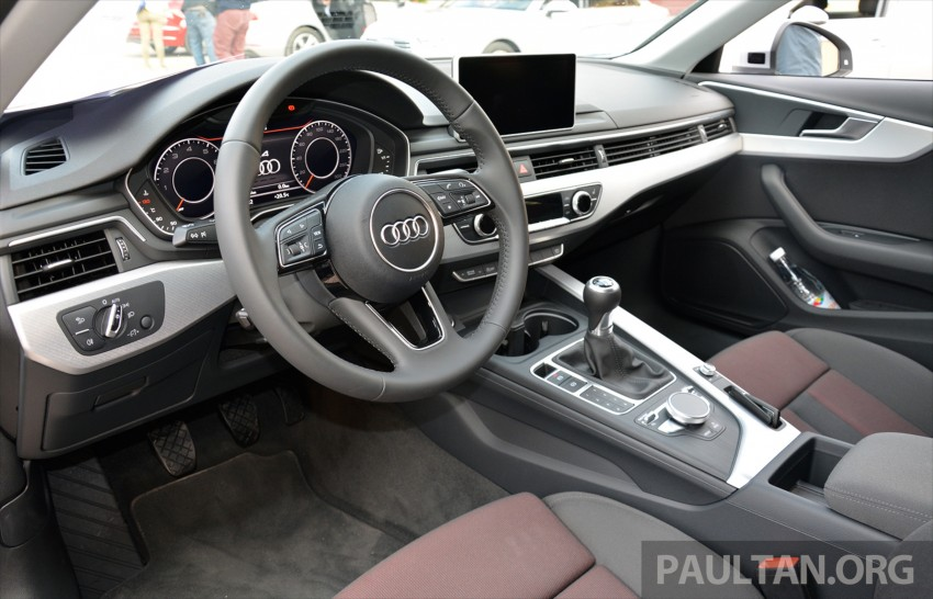 DRIVEN: B9 Audi A4 – handsome suit, inner beauty Image #386382