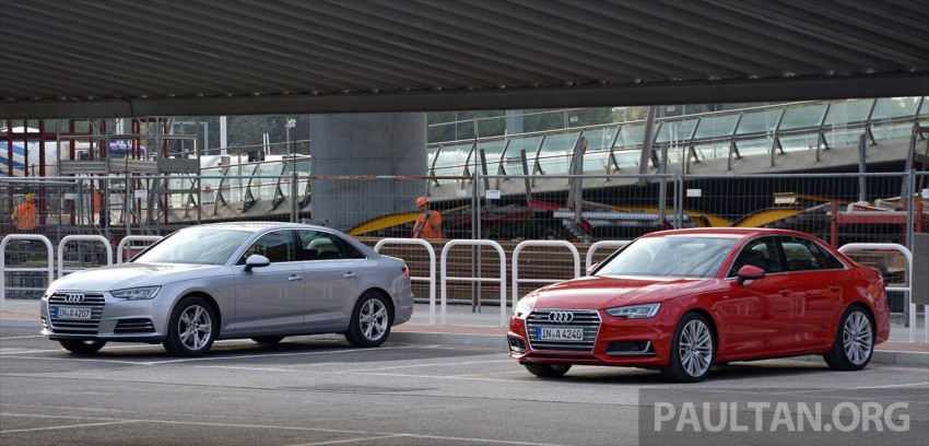 DRIVEN: B9 Audi A4 – handsome suit, inner beauty Image #386386