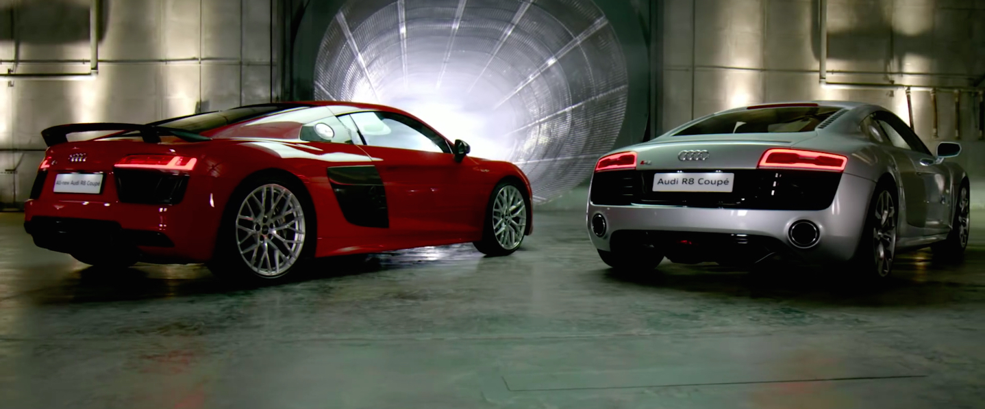 video the evolution of the audi r8 2006 to 2015. Black Bedroom Furniture Sets. Home Design Ideas