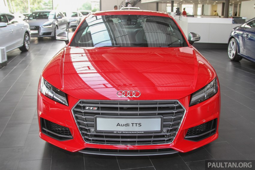 GALLERY: Audi TTS quattro in Malaysian showroom Image #400103