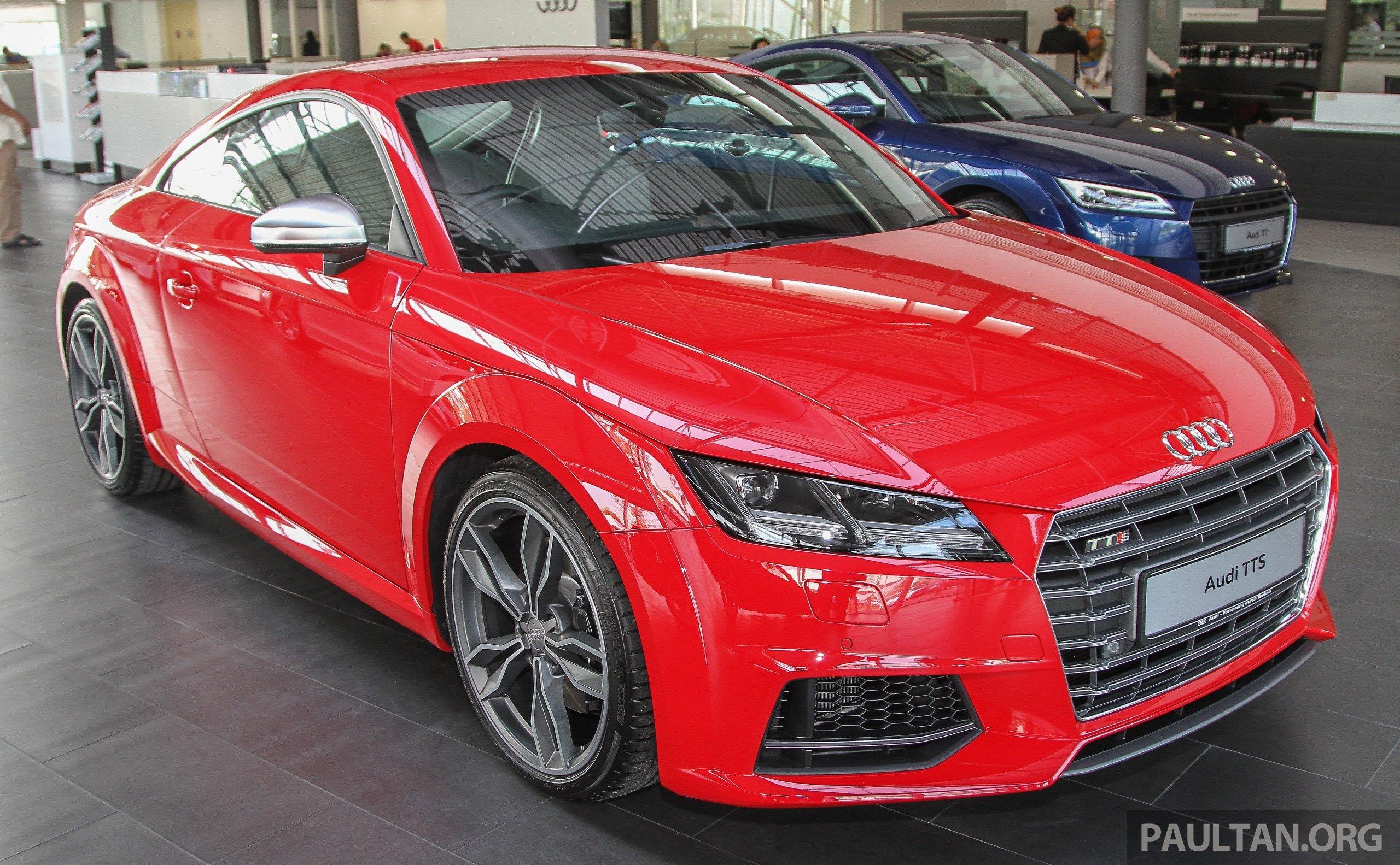 Gallery Audi Tts Quattro In Malaysian Showroom Paul Tan