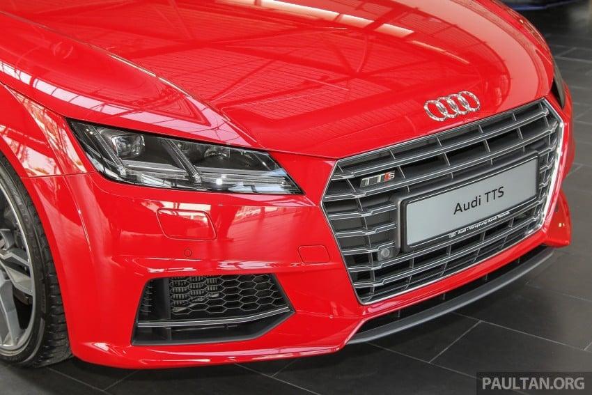 GALLERY: Audi TTS quattro in Malaysian showroom Image #400106