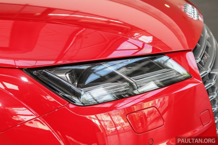 GALLERY: Audi TTS quattro in Malaysian showroom Image #400109