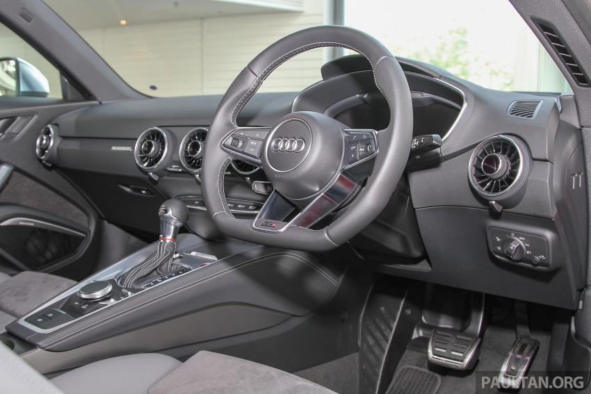 GALLERY: Audi TTS quattro in Malaysian showroom Image #400129