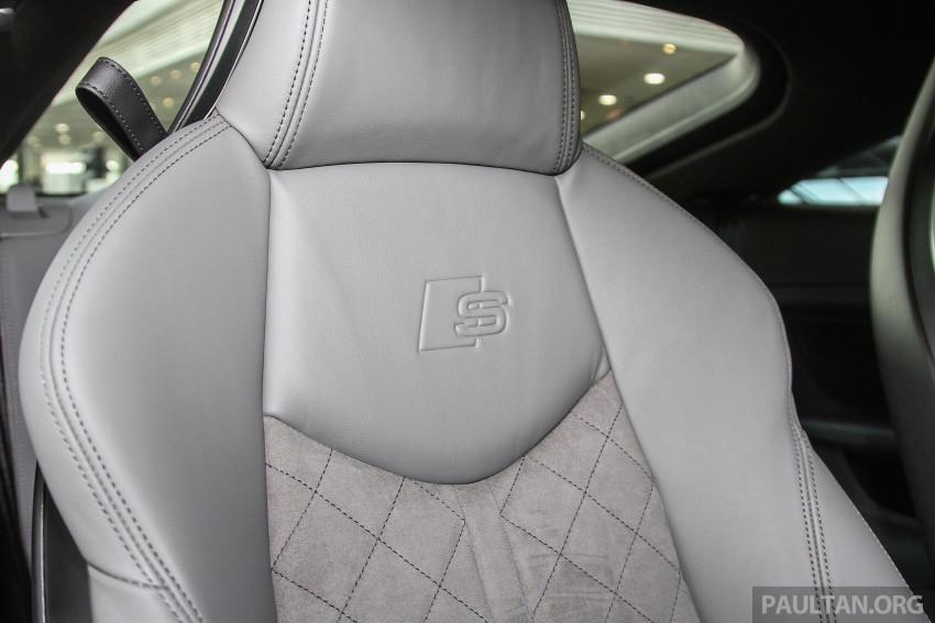 GALLERY: Audi TTS quattro in Malaysian showroom Image #400148