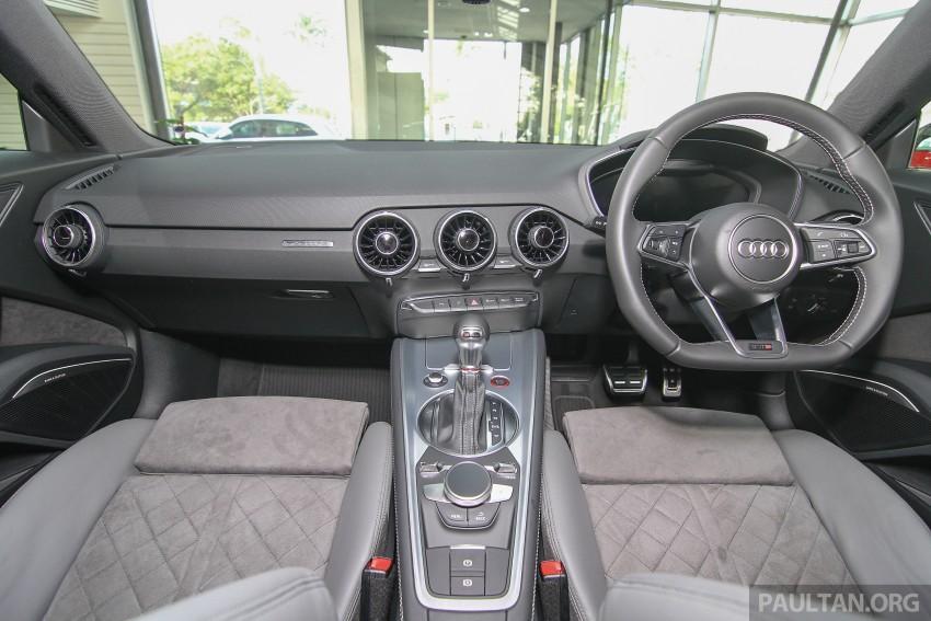 GALLERY: Audi TTS quattro in Malaysian showroom Image #400149