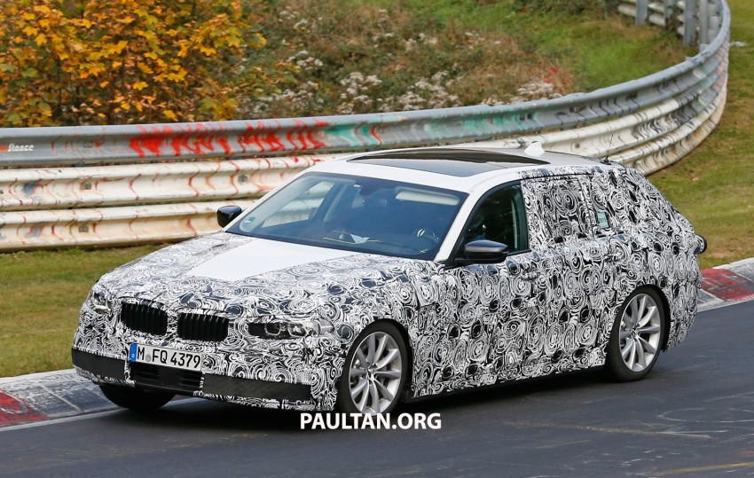 SPYSHOTS: Next-gen G30 BMW 5 Series, with interior Image #394451