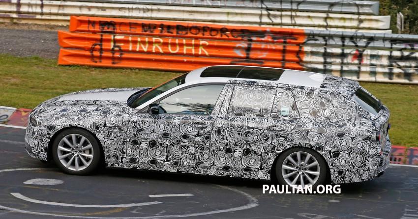 SPYSHOTS: Next-gen G30 BMW 5 Series, with interior Image #394453