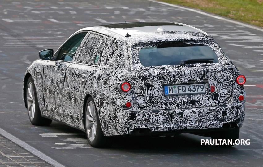 SPYSHOTS: Next-gen G30 BMW 5 Series, with interior Image #394456
