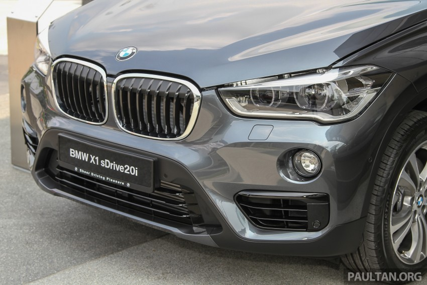 F48 BMW X1 sDrive20i launched in M'sia – RM280k Image #390293