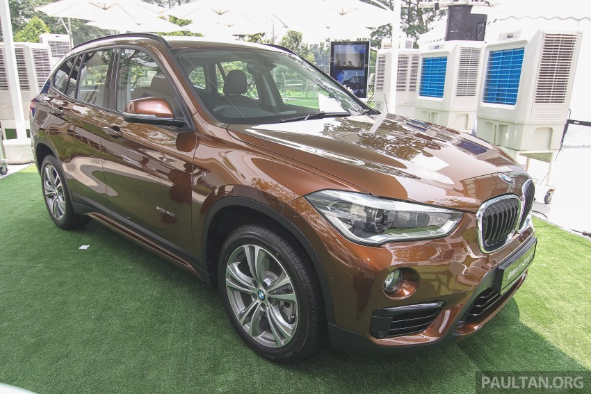 F48 BMW X1 sDrive20i launched in M'sia – RM280k Image #390337