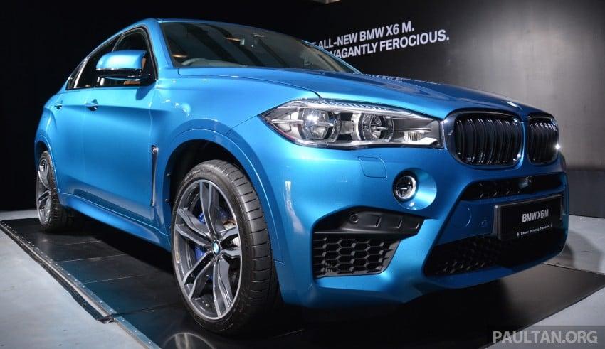 GALLERY: F86 BMW X6 M in Malaysia – RM1.24 million Image #396070