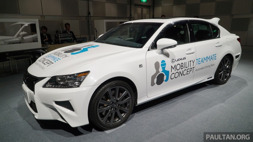 VIDEO: We experience Toyota's Highway Teammate autonomous driving tech in a modified Lexus GS Image #400691