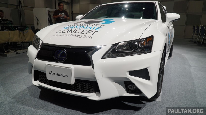 VIDEO: We experience Toyota's Highway Teammate autonomous driving tech in a modified Lexus GS Image #400693