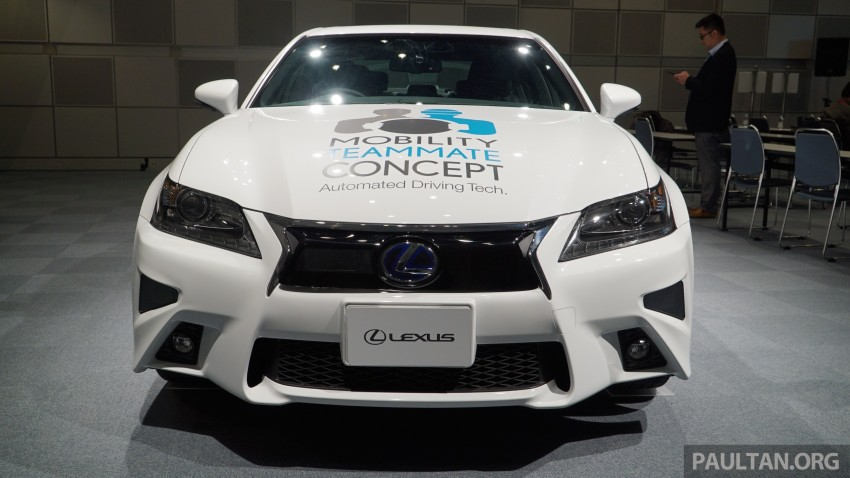 VIDEO: We experience Toyota's Highway Teammate autonomous driving tech in a modified Lexus GS Image #400695