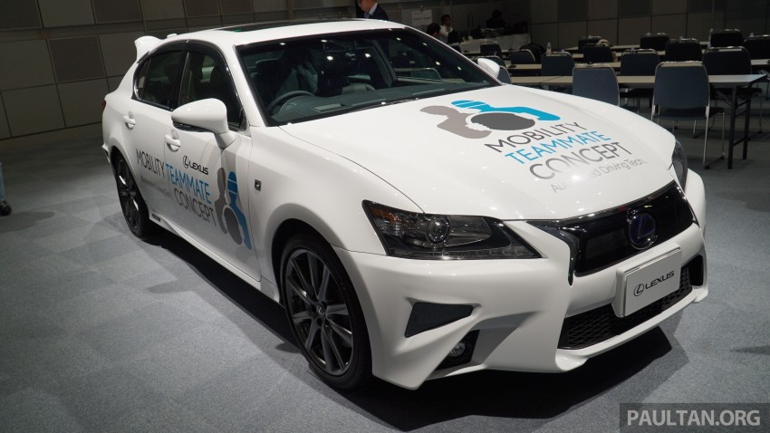 VIDEO: We experience Toyota's Highway Teammate autonomous driving tech in a modified Lexus GS Image #400696