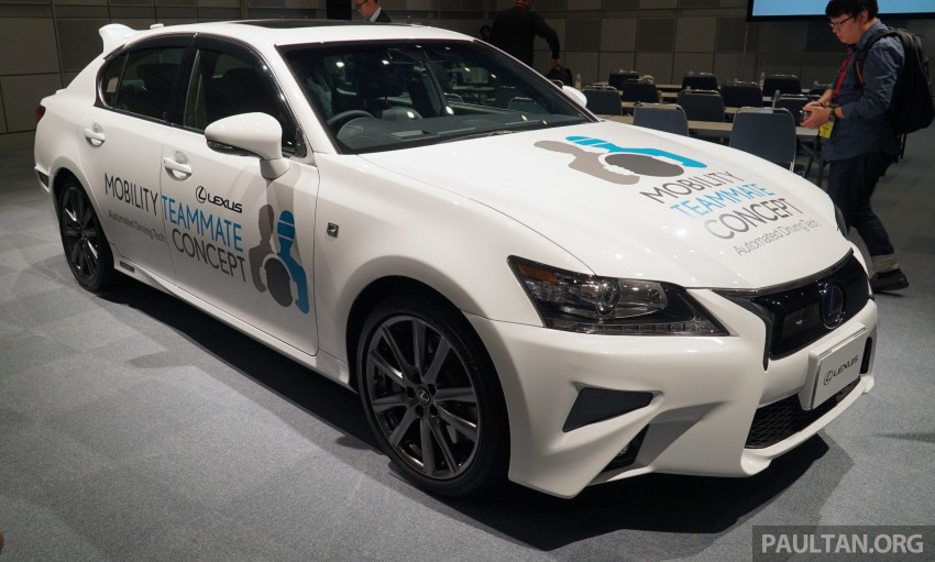 VIDEO: We experience Toyota's Highway Teammate autonomous driving tech in a modified Lexus GS Image #400698