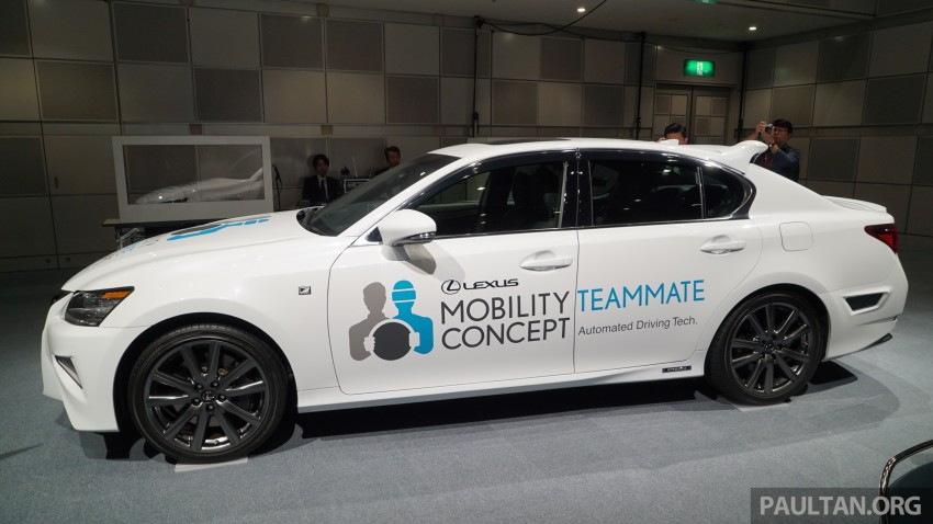 VIDEO: We experience Toyota's Highway Teammate autonomous driving tech in a modified Lexus GS Image #400701