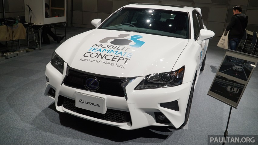 VIDEO: We experience Toyota's Highway Teammate autonomous driving tech in a modified Lexus GS Image #400702
