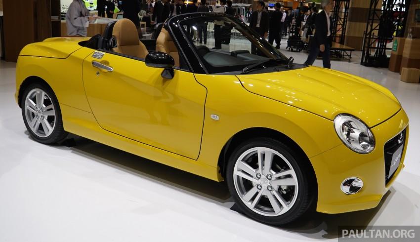 Tokyo 2015: Daihatsu Copen Cero folding roof video Image #400205