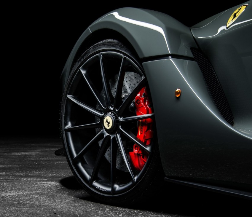 LaFerrari gets highly exclusive Vossen forged wheels Image #396745
