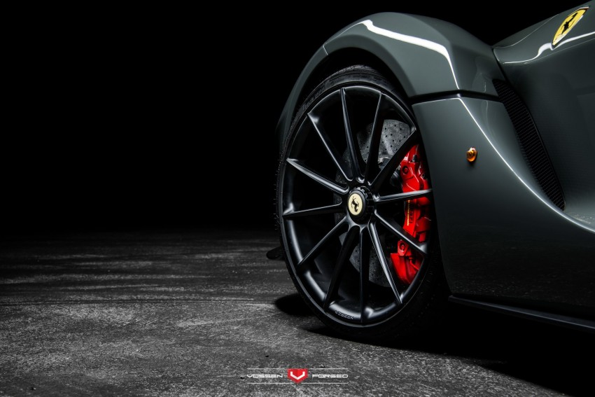 LaFerrari gets highly exclusive Vossen forged wheels Image #396761