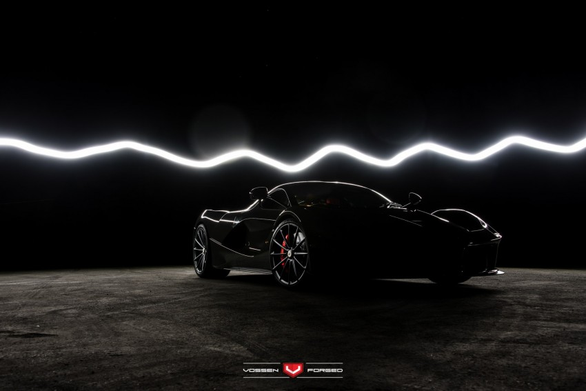 LaFerrari gets highly exclusive Vossen forged wheels Image #396748