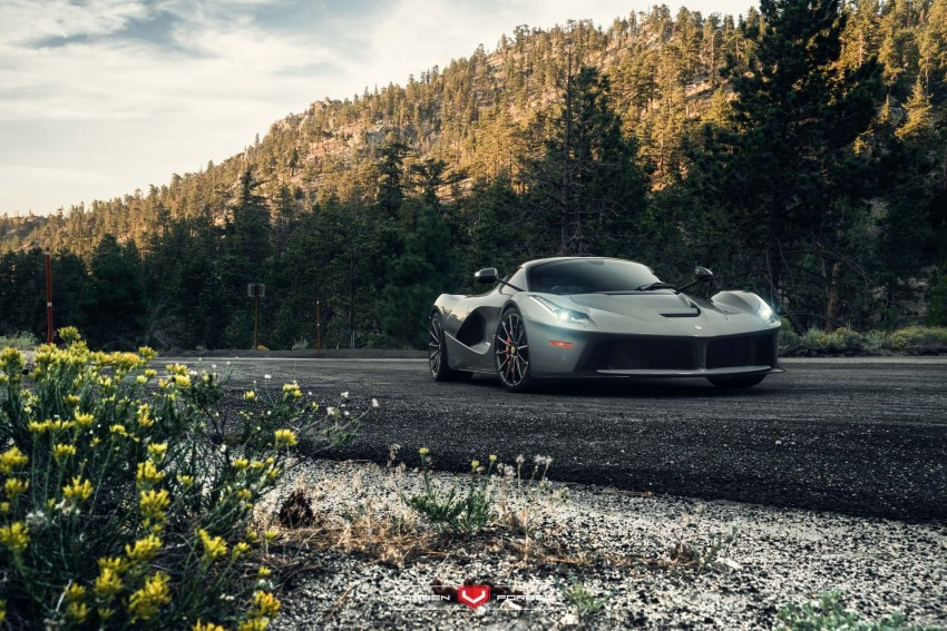 LaFerrari gets highly exclusive Vossen forged wheels Image #396746