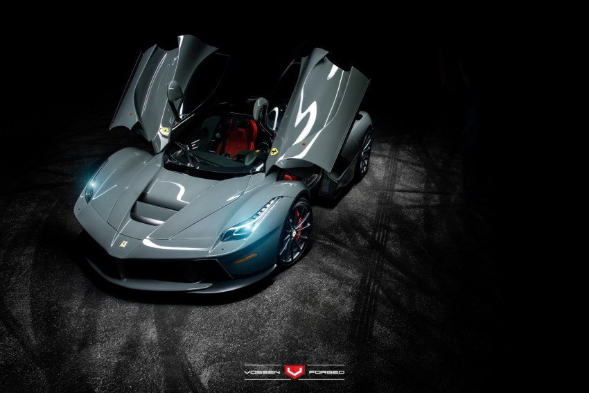 LaFerrari gets highly exclusive Vossen forged wheels Image #396747