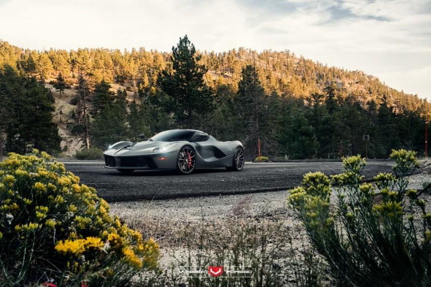 LaFerrari gets highly exclusive Vossen forged wheels Image #396749