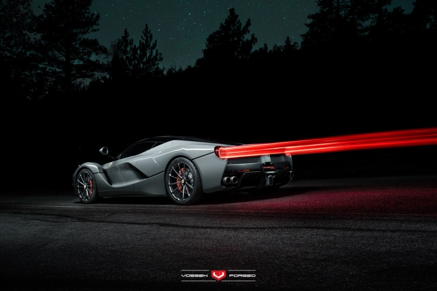 LaFerrari gets highly exclusive Vossen forged wheels Image #396750