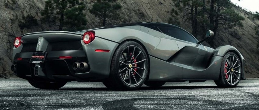 LaFerrari gets highly exclusive Vossen forged wheels Image #396751