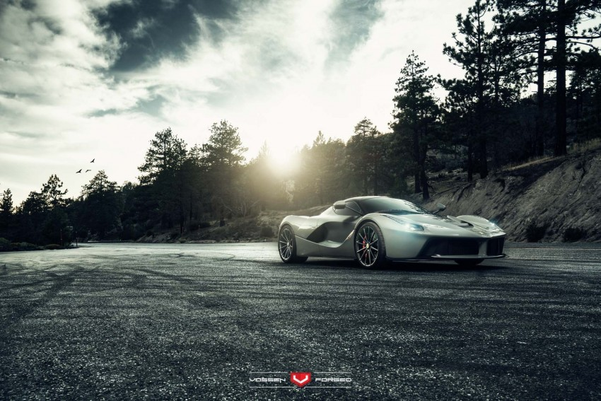LaFerrari gets highly exclusive Vossen forged wheels Image #396752