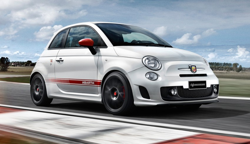 Abarth 595 Yamaha Factory Racing Edition in the UK Image #393826