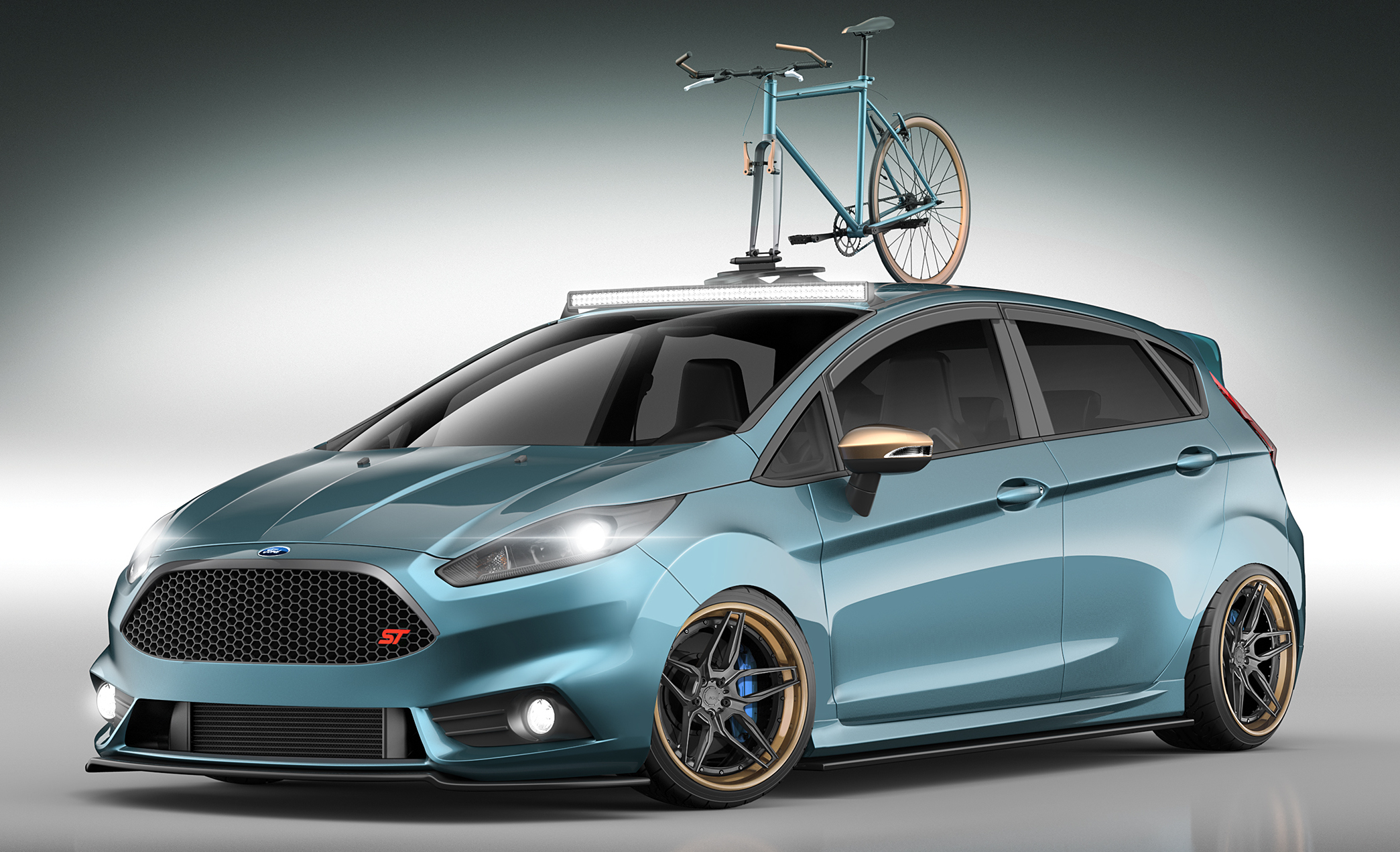 ford focus st and fiesta st custom mods for sema image 400263. Black Bedroom Furniture Sets. Home Design Ideas