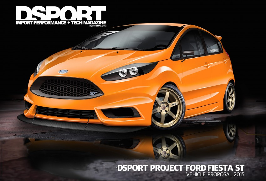 Ford Focus ST and Fiesta ST custom mods for SEMA Image #400264