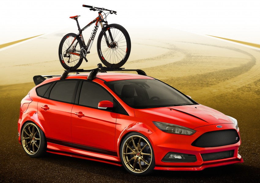 Ford Focus ST and Fiesta ST custom mods for SEMA Image #400260