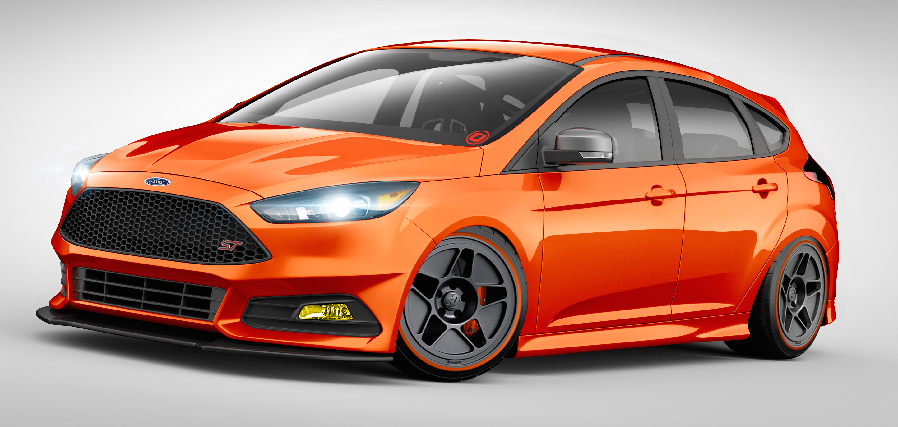 ford focus st and fiesta st custom mods for sema image 400255. Black Bedroom Furniture Sets. Home Design Ideas