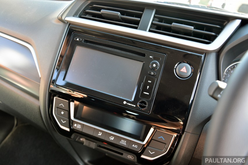 Honda BR-V – first drive impressions, interior details Image #397957