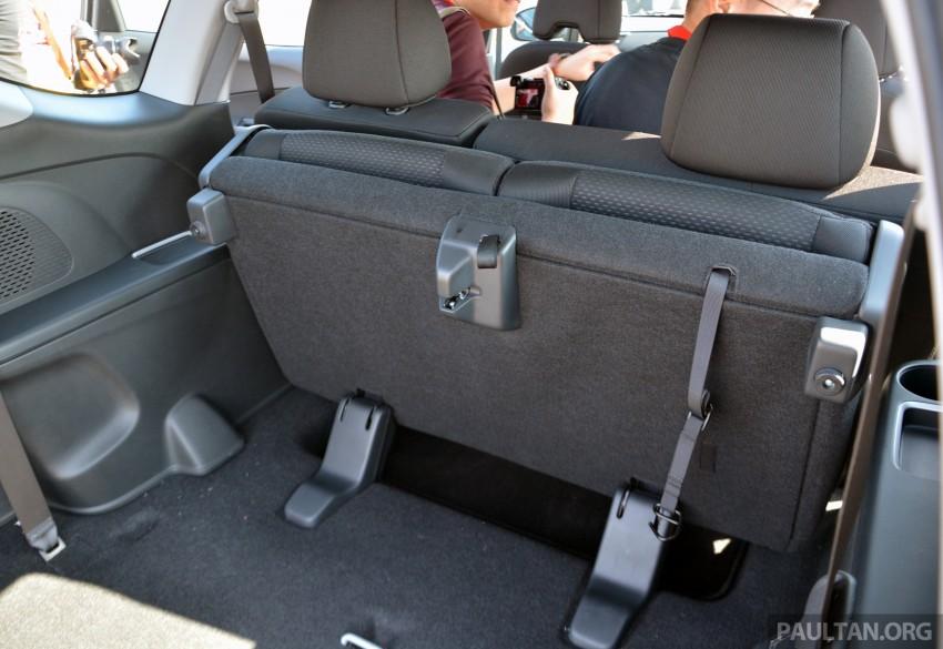 Honda BR-V – first drive impressions, interior details Image #397977