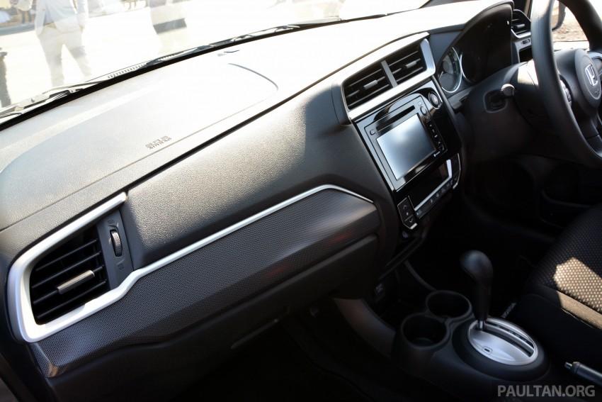 Honda BR-V – first drive impressions, interior details Image #397968