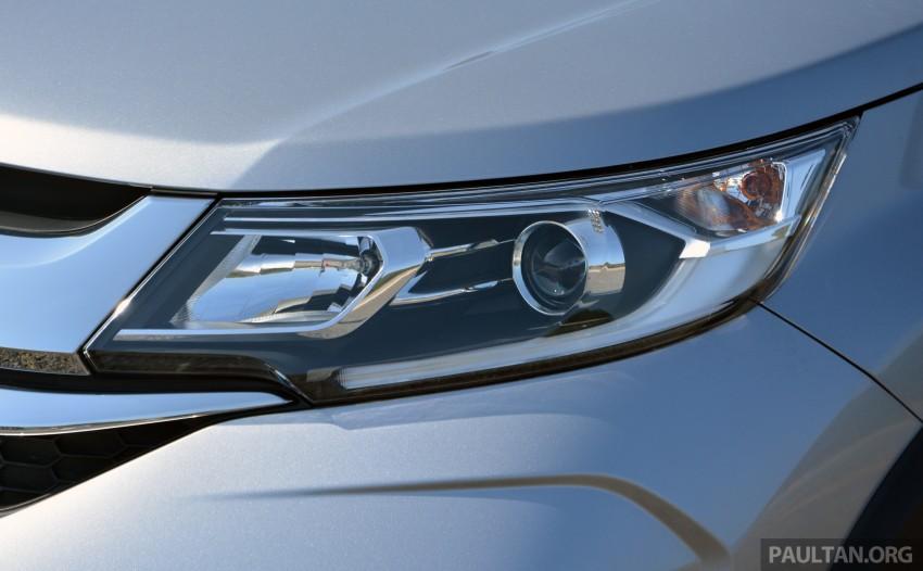 Honda BR-V – first drive impressions, interior details Image #397993