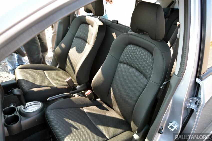 Honda BR-V – first drive impressions, interior details Image #397979