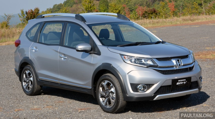 Back to Story: Honda BR-V – interior details and first impressions