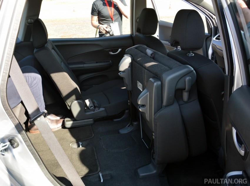 Honda BR-V – first drive impressions, interior details Image #397976