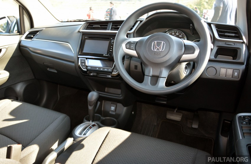 Honda BR-V – first drive impressions, interior details Image #397958
