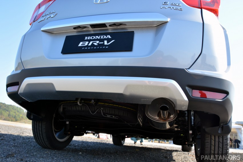 Honda BR-V – first drive impressions, interior details Image #397991