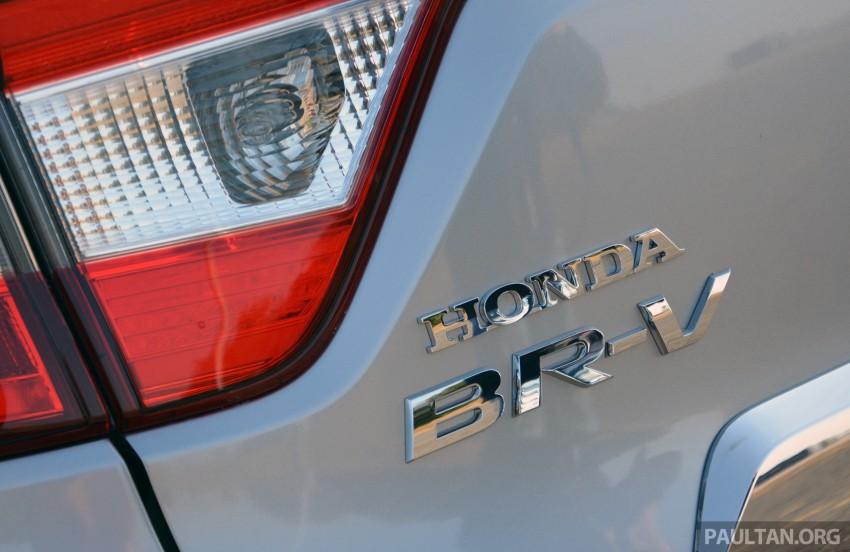 Honda BR-V – first drive impressions, interior details Image #397998