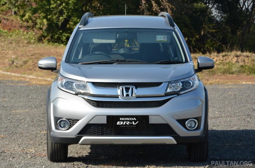 Honda BR-V – first drive impressions, interior details Image #397944